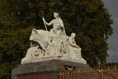 Albert Memorial en Londres, Inglaterra Fotografía de archivo
