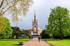 Albert Memorial en Londres, Reino Unido fotos de archivo
