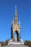 Albert Memorial (Full). The Albert Memorial showing Albert in gold, in Kensington Gardens, London Stock Image