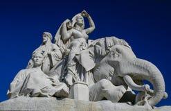 Statue at Albert Memoral in London Royalty Free Stock Images