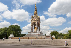 The Albert Memorial, Hyde Park, London. Royalty Free Stock Image