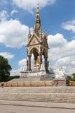 Albert Memorial, Hyde Park, Londres Imagem de Stock