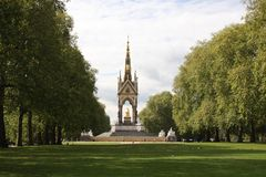 The Albert Memorial at Hyde Park. View of the Albert Memorial at Hyde Park, London Stock Image