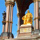 Albert Memorial i London Royaltyfri Bild