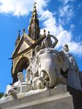 Albert Memorial, jardins de Londres, Kensington Images libres de droits