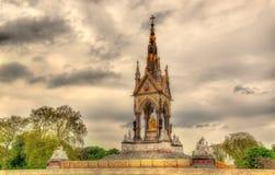 The Albert Memorial in Kensington Gardens Royalty Free Stock Photos