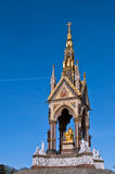 Albert Memorial in Kensington Gardens Royalty Free Stock Photography