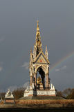 Albert Memorial Kensington Gardens London rainbow Royalty Free Stock Photo