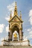 The Albert Memorial in Kensington Gardens, London Royalty Free Stock Images