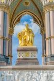 The Albert Memorial in Kensington Gardens, London Royalty Free Stock Image