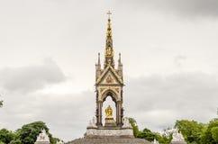 The Albert Memorial in Kensington Gardens, London Stock Image