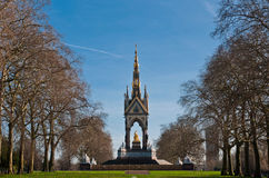 Albert Memorial in Kensington Gardens Stock Image