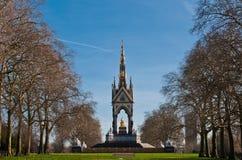 Albert Memorial in Kensington Gardens Stock Image