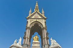Albert Memorial in Londen Stock Foto's