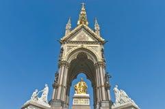Albert Memorial in Londen Stock Foto's