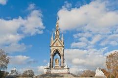 Albert Memorial in Londen, Engeland Stock Foto