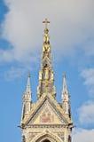 Albert Memorial in Londen, Engeland Royalty-vrije Stock Afbeeldingen