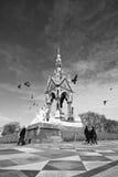 Albert Memorial London. Albert Memorial in Hyde Park, London, United Kingdom Stock Images