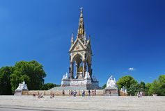 The Albert Memorial in London Stock Images
