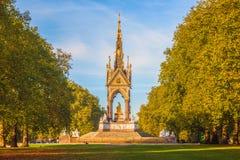 Albert Memorial in London Royalty Free Stock Images