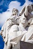 Albert Memorial, London: detail of Asia. Albert Memorial in Hyde Park, Kensington, London: detail of the statue group representing the continent of Asia Stock Photos