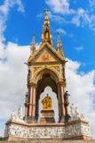 Albert Memorial in London, Großbritannien Stockbilder