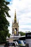 Albert Memorial in London situated in Kensington Gardens Stock Images