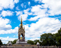 Albert Memorial in London situated in Kensington Gardens Stock Photography