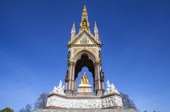 Albert Memorial in London Stock Images