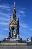 Albert Memorial - Londra - l'Inghilterra Fotografie Stock