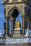 Albert Memorial - Londra - l'Inghilterra Fotografie Stock Libere da Diritti