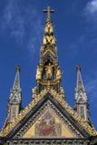 Albert Memorial - Londra - l'Inghilterra Fotografia Stock Libera da Diritti
