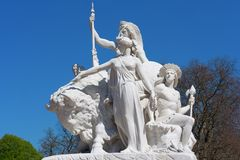 Albert Memorial, Londres Imagens de Stock Royalty Free