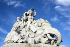 Albert Memorial - Londres - Inglaterra Foto de Stock Royalty Free