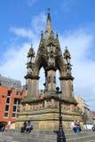 Albert Memorial, Manchester Royalty-vrije Stock Afbeelding