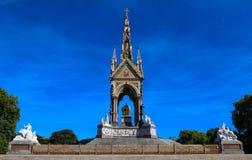 The Albert Memorial situated in Kensington Gardens, London, England Stock Photo