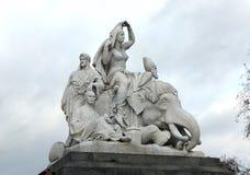 Albert Memorial Statues, London, England Royalty Free Stock Photo