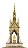 Albert Memorial on white Royalty Free Stock Image