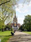 Albert minnesmärke - kensington trädgårdplats Royaltyfri Bild