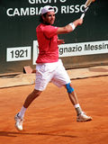 Albert Montanes. Spanish tennis player, Albert Montanes, during a match Royalty Free Stock Images