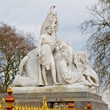 Albert monument in london england kingdome and old construction Royalty Free Stock Photography
