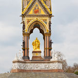 Albert monument   in london england kingdome and old construction Stock Photography