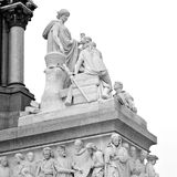 Albert monument in london england kingdome and old construction Royalty Free Stock Photo