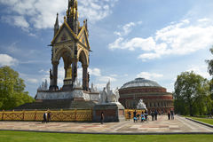 Albert Monuments Royalty Free Stock Photography