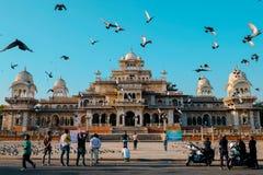 Albert Museum Hall,Jaipur In Rajathan.India stock image