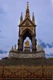 Albert Pamiątkowa statua Londyn Obrazy Royalty Free
