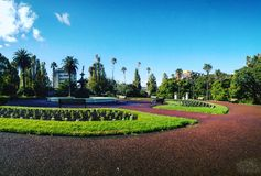 Albert park zdjęcia royalty free