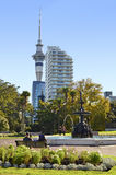 Albert park Auckland - New Zealand Stock Image