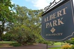 Albert park - Auckland Nowa Zelandia Fotografia Stock