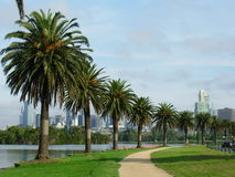 Albert Park in Melbourne Stock Images